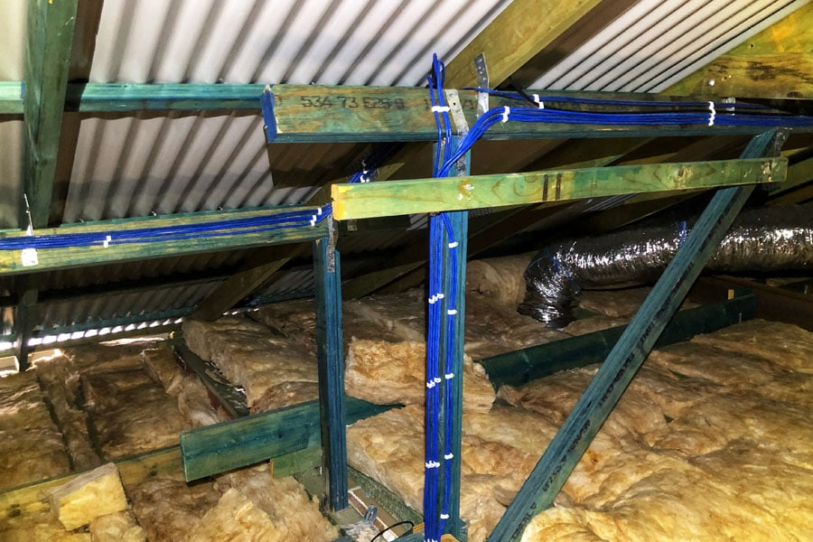 Byford Protech Cctv Survailance Roof Wiring